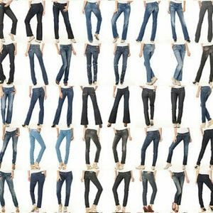 Denim - Mixed lot name brand jeans like new for resellers